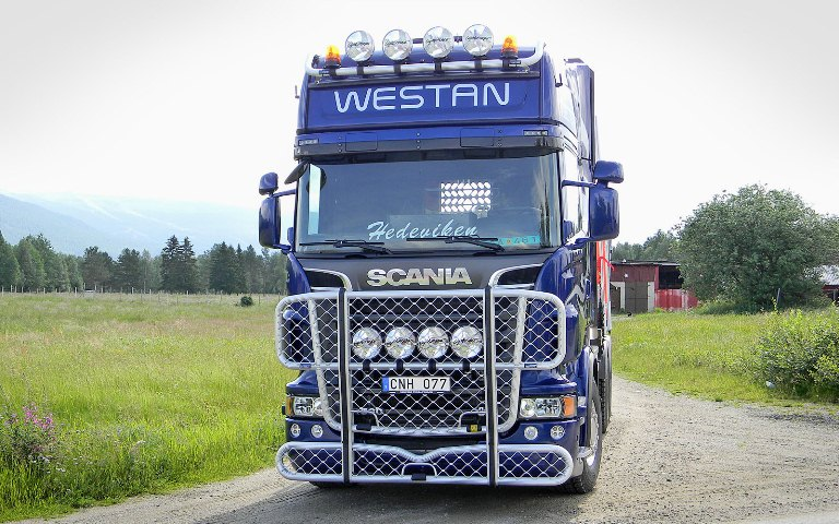 Scania R-serie, Topline. Front Protection, Highway A23-2 и Top-Bar G23-2