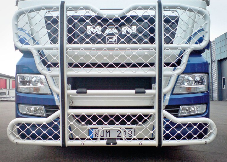 MAN TGX. Front Protection, Highway A74-1