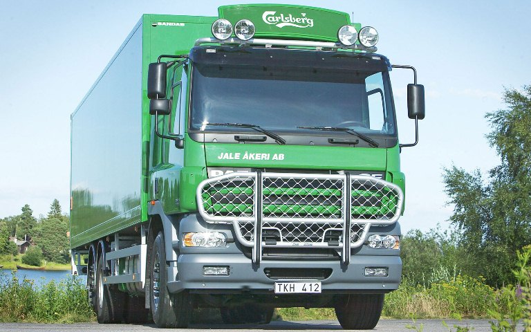 DAF CF Day Cab. Front Protection, Offroad арт.B61-3 и Top-Bar арт.G62-3